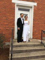 Dr. Wang and his wife Anle