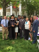 Dr Wang honorary doctorate degree from Trevecca University_1