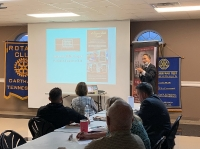 Dr. Wang speaking on Tues. 10/27/20 at Carthage Rotary TA event_5