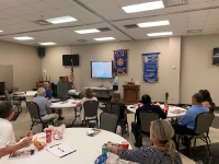Dr. Wang spoke at the Mt. Juliet Rotary on Aug 10, 2020.