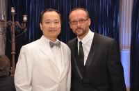 Dr Wang with Tim McGraw