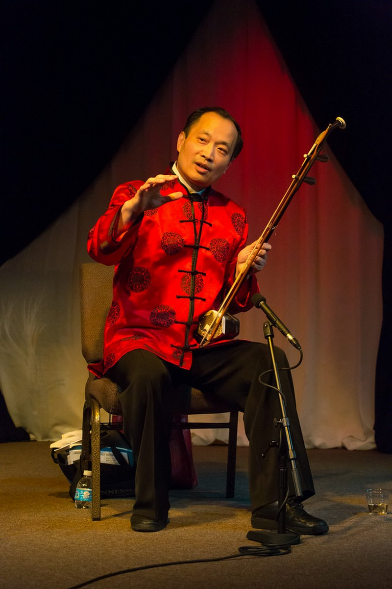 Dr Wang and his music
